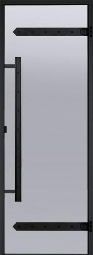HARVIA Двери стеклянные LEGEND, сатин (для турецких парных)