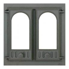 Каминная дверца 401 SVT со стеклом