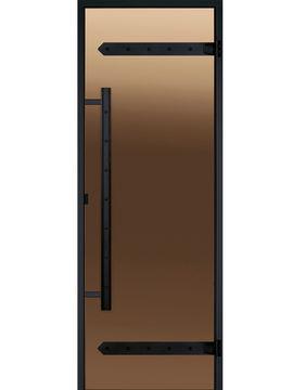 HARVIA Двери стеклянные LEGEND, бронза (для турецких парных)