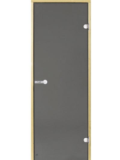 HARVIA Двери стеклянные, серая для сауны