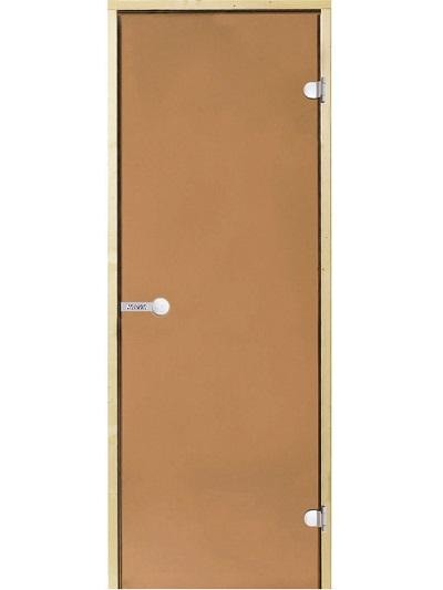 HARVIA Двери стеклянные,бронза (для турецких парных)
