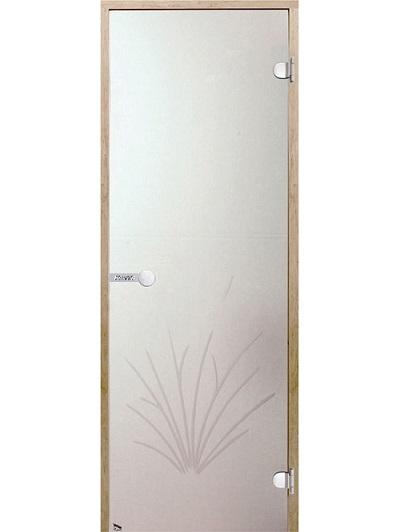 HARVIA Двери стеклянные, для сауны, камыш