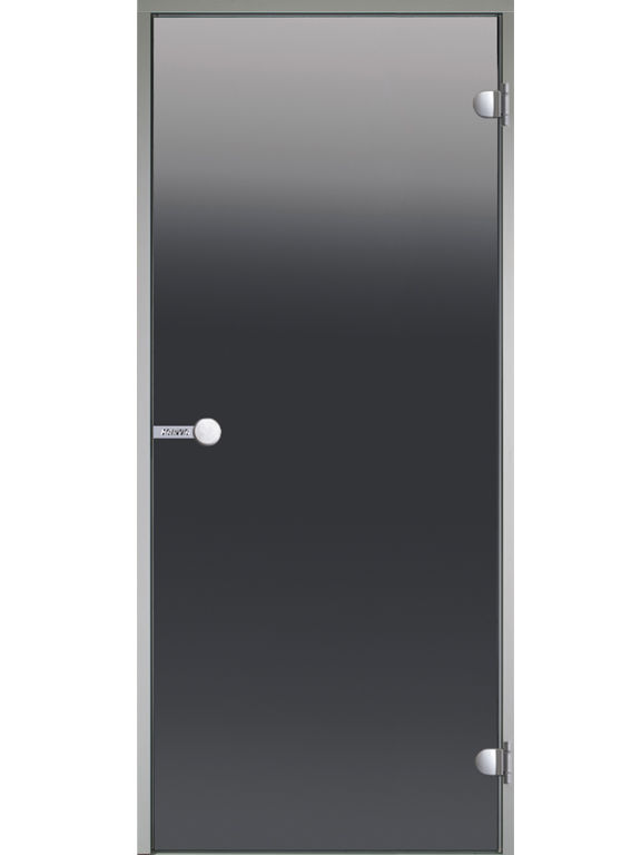HARVIA Двери стеклянные, серая (для турецких парных)