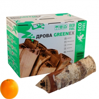 Березовые дрова (аромат апельсина)