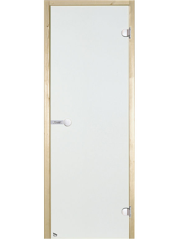 HARVIA Двери стеклянные, прозрачная (для турецких парных)